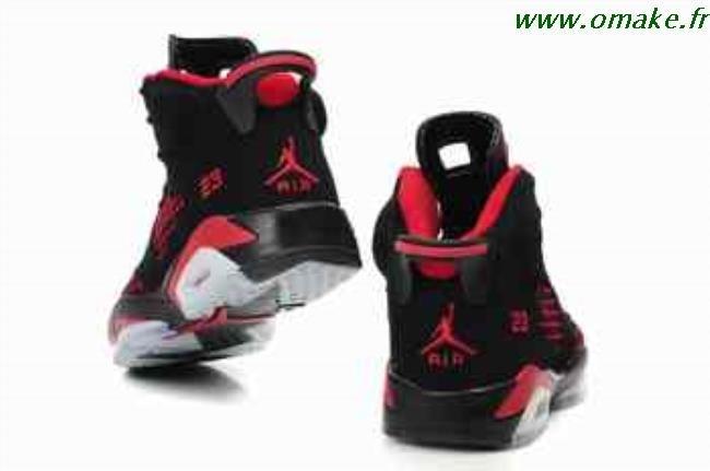 mieux aimé dd5fc 24081 Nike Air Jordan Noir Et Rouge omake.fr