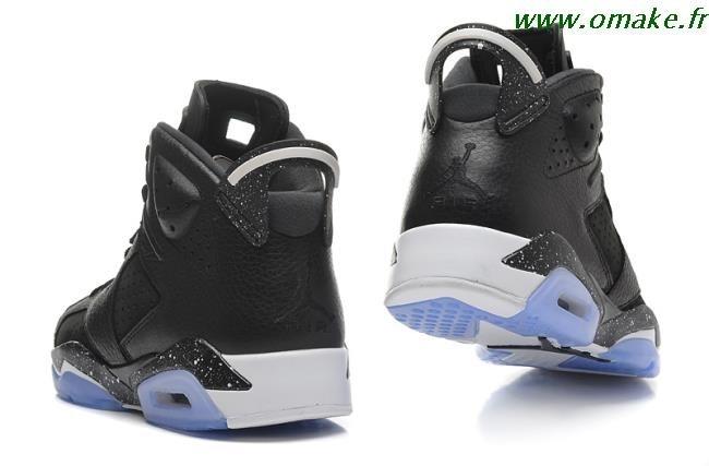 regarder da8d3 1b8b0 Air Jordan 6 Noir Et Bleu omake.fr