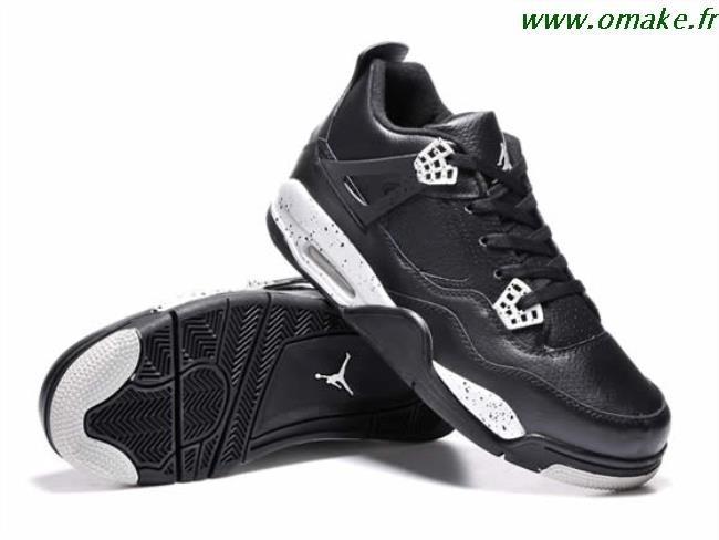to buy uk cheap sale new products Air Jordan 4 Noir Et Blanc omake.fr