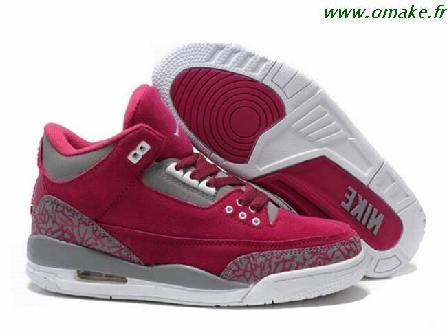 Air Jordan Rose Femme