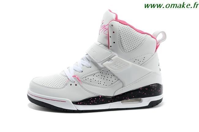 Air Jordan Rose Et Blanche Femme omake.fr