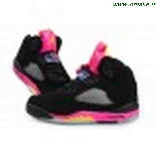 Air Jordan Rose Et Noir Femme omake.fr