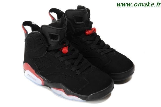 meilleures baskets 8bce8 0cec0 Air Jordan 6 Femme Noir Rose omake.fr