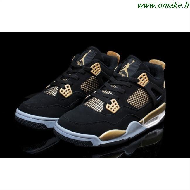 nouveaux styles 1f0d6 86fb8 Nike Jordan Noir Et Or omake.fr