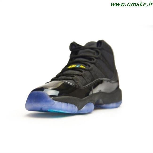 acheter pas cher 2405a d0f59 Jordan 11 Noir Et Bleu omake.fr
