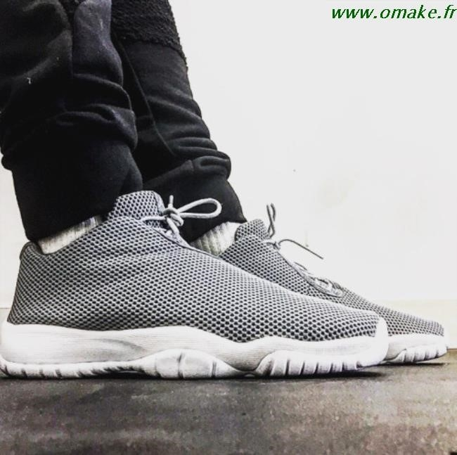 Jordan Future Low Grey