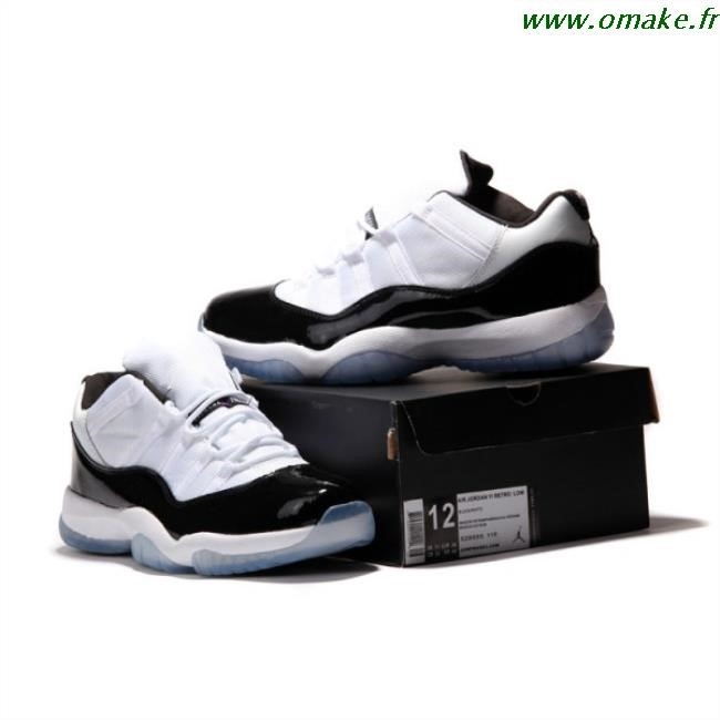 photos officielles 90b5a e4a11 Air Jordan 11 Femme Basse omake.fr