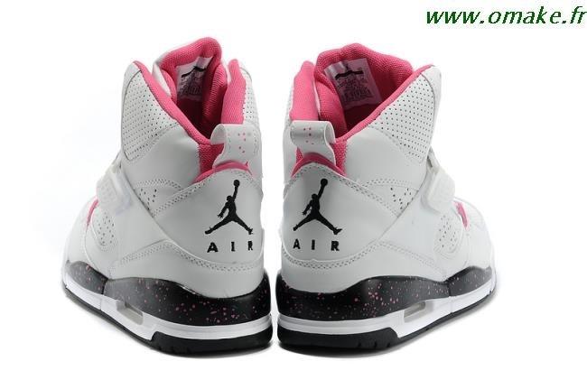 design de qualité 01258 1d63d Jordan Chaussure Pour Fille Blanche omake.fr
