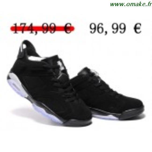 photos officielles a7ab6 35ad2 Jordan 6 Basse Noir omake.fr