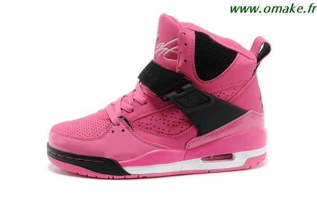 meilleure valeur 246b5 4f15f Femme Noir Air Et Rose Jordan Nike mnNwv80