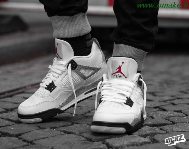 Jordan Retro 4 White Cement