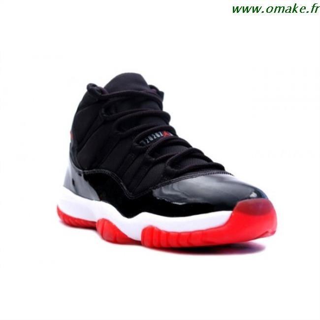 vente chaude en ligne 92643 ee3c5 Jordan Retro 11 Noir Et Rouge omake.fr