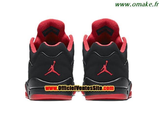 design intemporel 6630f d2c2e Jordan Retro 5 Noir Et Rouge omake.fr