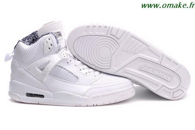 nouveau produit 83ea8 98452 Jordan Basket Blanche omake.fr