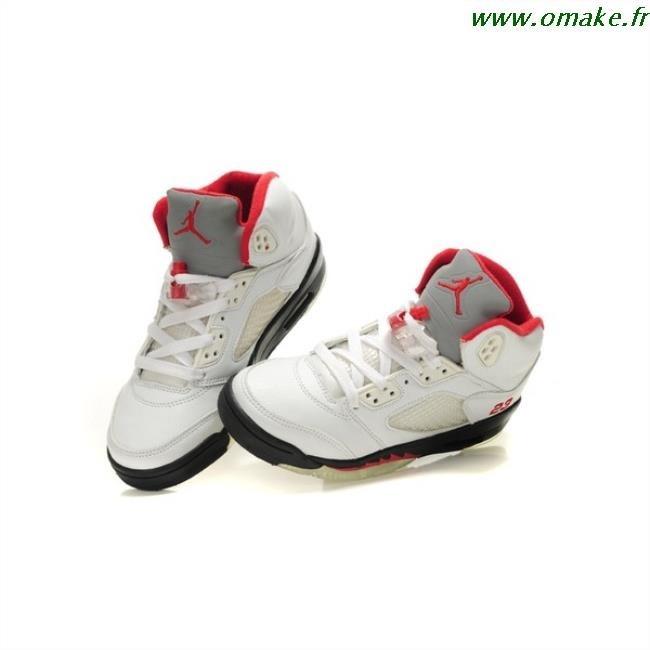 top design hot sale online first look Nike Air Jordan Blanche Et Rouge omake.fr