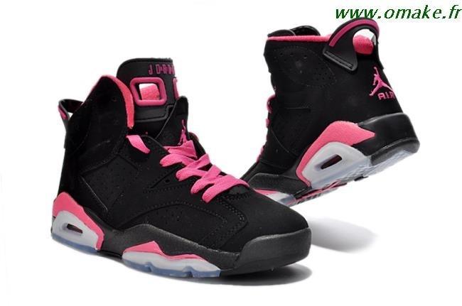 Air Jordan Rose Et Noir