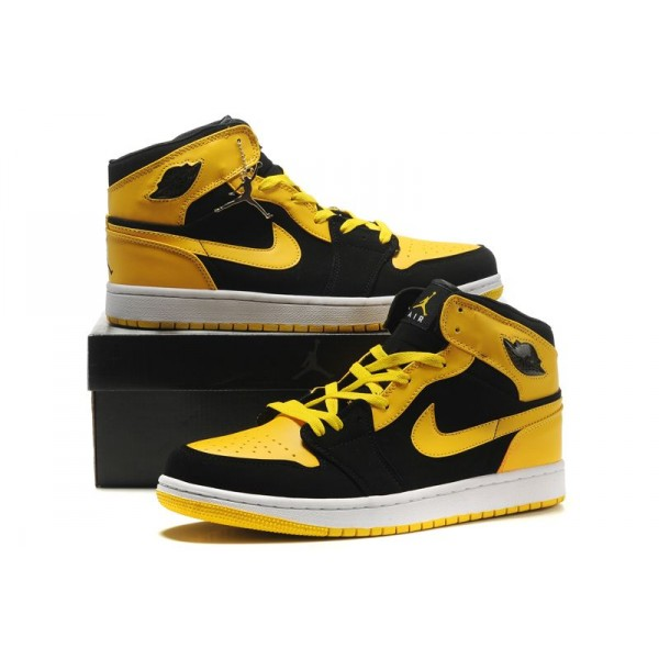 basket air jordan jaune