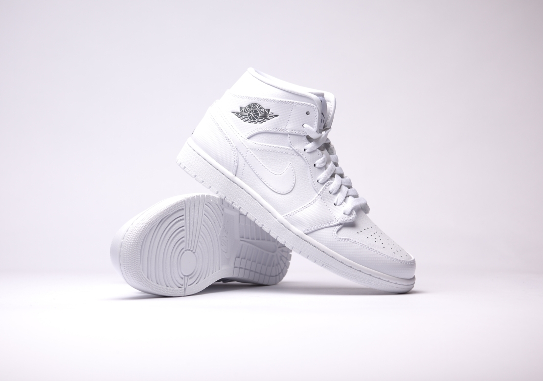 Air Jordan Mid 1 White