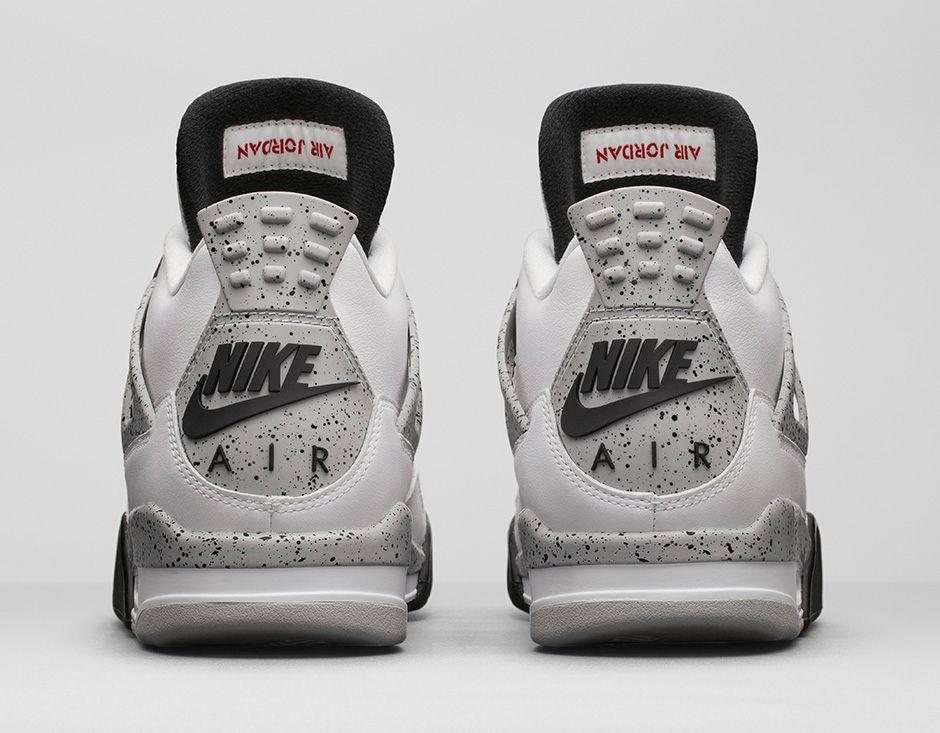 Nike Cement Retro 2017 Air White Jordan 4 SUGVMzpq