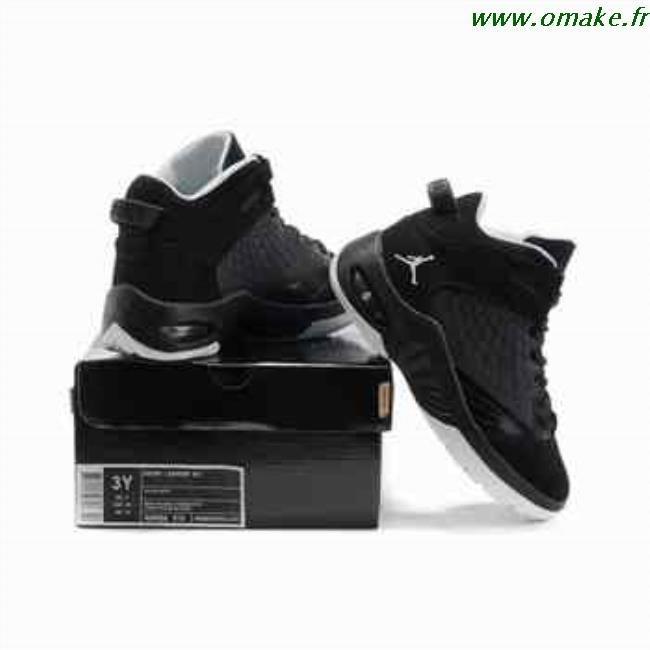 check-out c3727 10a97 Basket Jordan Femme Noir Et Blanc omake.fr