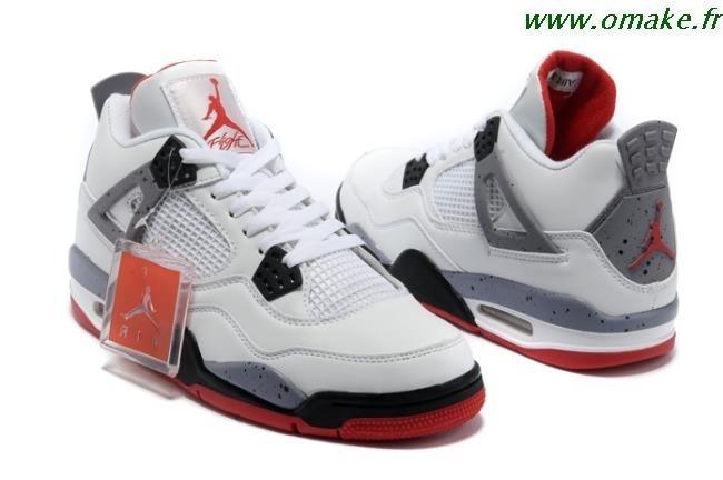 Air Jordan 4 Blanc Homme