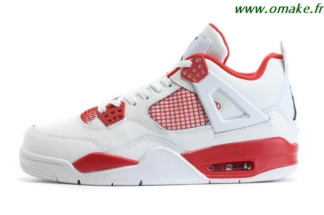 Air Jordan 4 Rouge Homme