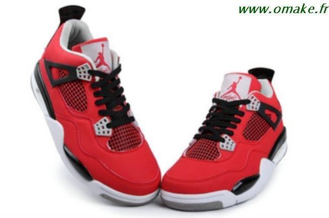 Nouveaux produits 1fe08 2ba9b Air Jordan Homme Retro 4 omake.fr