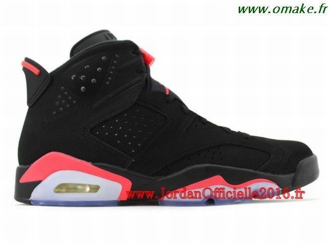 Jordan Noir Et Rouge Homme