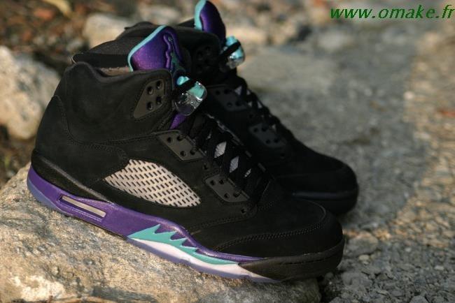 Air Jordan 5 Black Grape