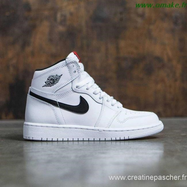 air jordan 1 gs blanche