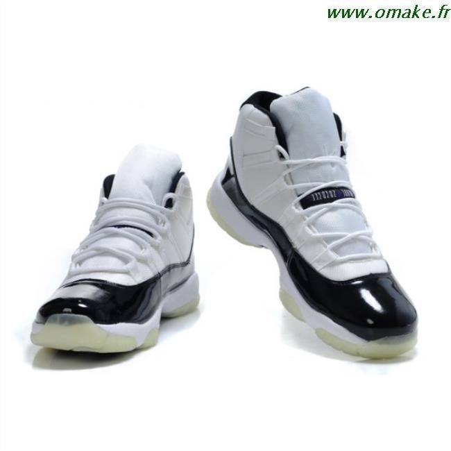 size 40 huge discount no sale tax Air Jordan Femme Noir Blanc omake.fr