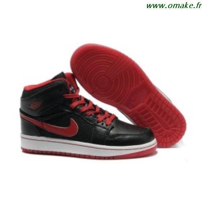 le dernier 0aff9 a6008 Air Jordan 1 Rouge Et Noir omake.fr