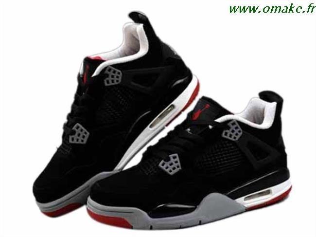 Air Jordan 4 Retro Rouge Et Noir