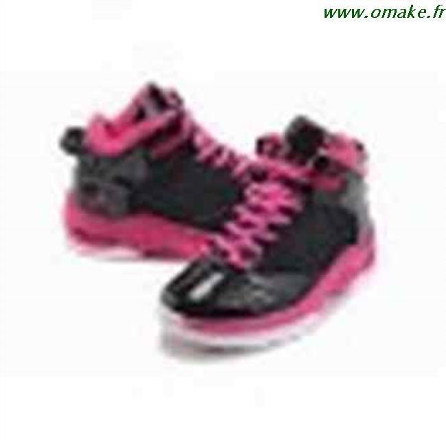grossiste 45a4d 14846 Air Jordan Fille Rose Et Noir omake.fr