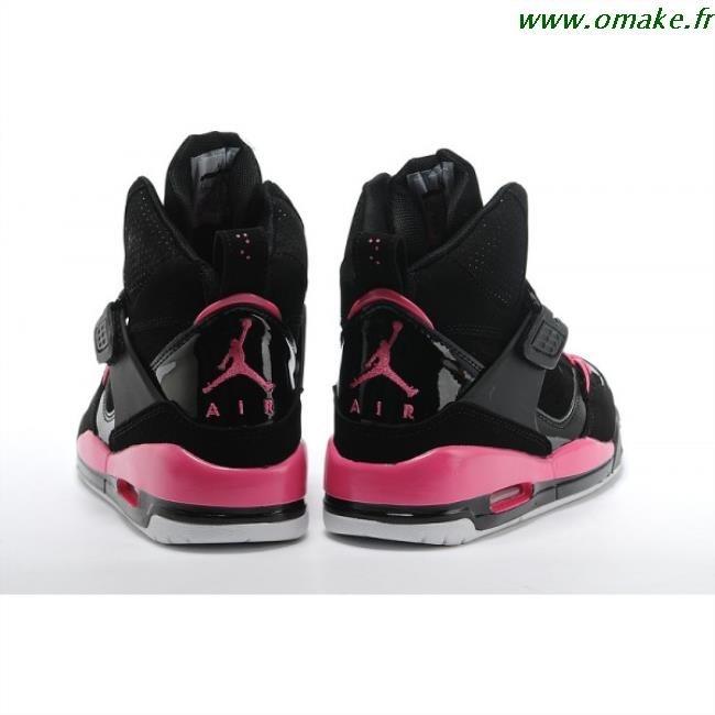 Nike Air Jordan Rose Et Noir