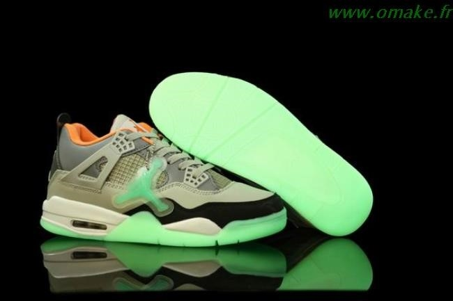 Air Jordan 4 Gris Orange Rose