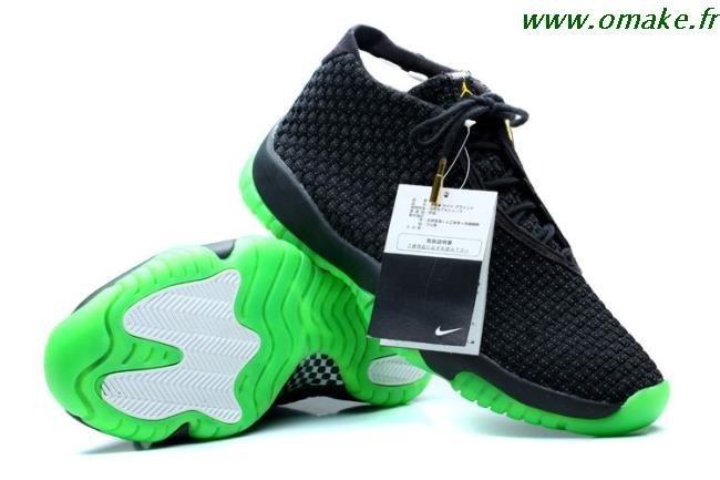 Air Jordan Future Vert Acier