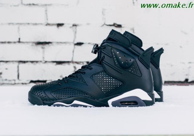 acheter en ligne e65a6 01d90 Nike Air Jordan 6 Noir omake.fr